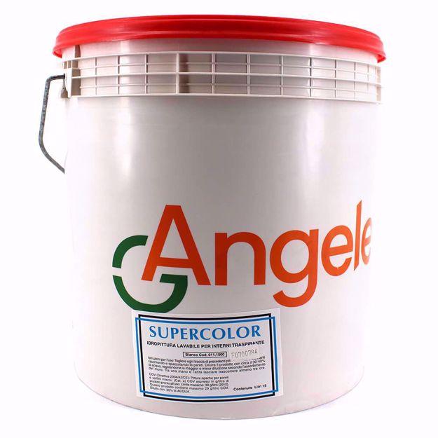 Angelella | Pittura murale per interni Supercolor Bianco L 15